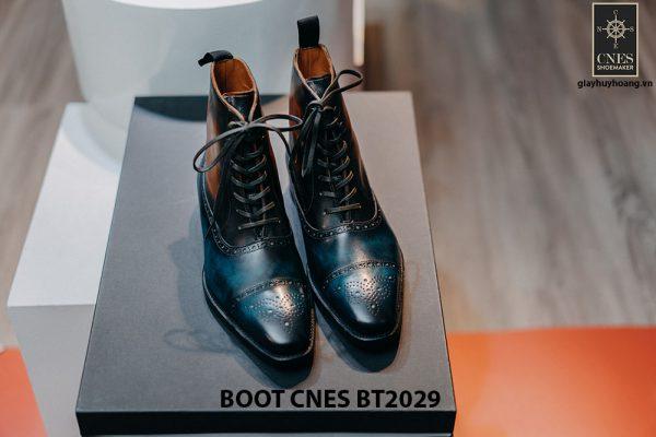 Giày da nam cổ cao Boot CNES BT2029 001