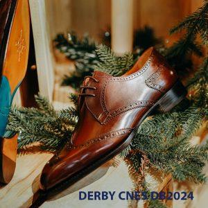 Giày da nam cột dây Derby CNES DB2024 006