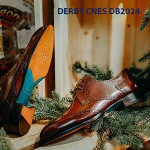 Giày da nam cột dây Derby CNES DB2024 005