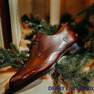 Giày da nam cột dây Derby CNES DB2024 004