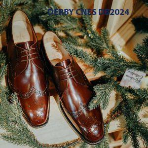 Giày da nam cột dây Derby CNES DB2024 003