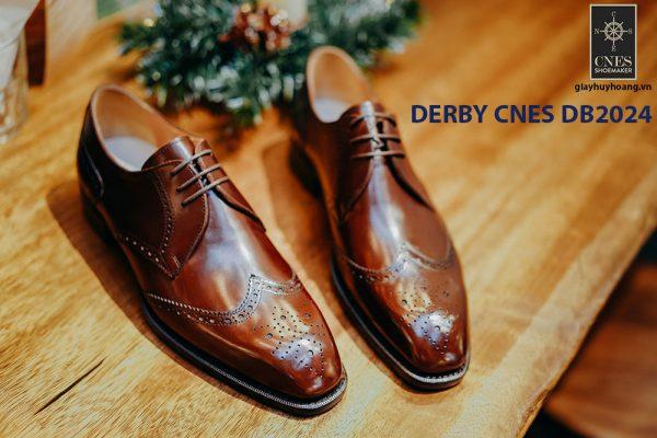 Giày da nam cột dây Derby CNES DB2024 001