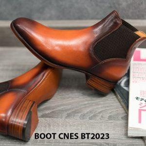 Giày da nam cổ cao Boot CNES BT2023 005