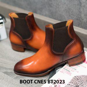 Giày da nam cổ cao Boot CNES BT2023 004