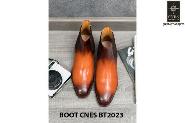 Giày da nam cổ cao Boot CNES BT2023 003