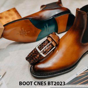 Giày da nam cổ cao Boot CNES BT2023 002