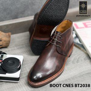 Giày da nam chính hãng Chukka Boot CNES BT2038 004