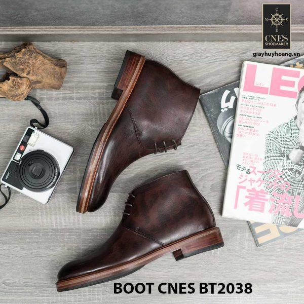 Giày da nam chính hãng Chukka Boot CNES BT2038 003