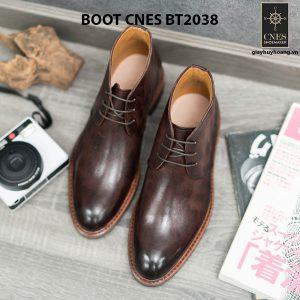 Giày da nam chính hãng Chukka Boot CNES BT2038 001