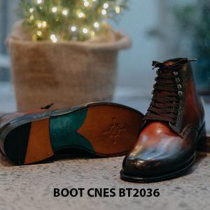 Giày da nam thời trang Boot CNES BT2036 004