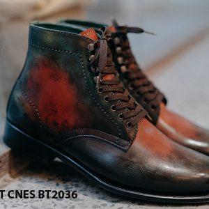 Giày da nam thời trang Boot CNES BT2036 003