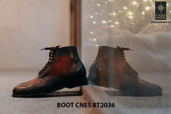 Giày da nam thời trang Boot CNES BT2036 002
