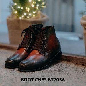 Giày da nam thời trang Boot CNES BT2036 001