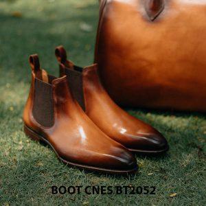 Giày da nam Chelsea Boot CNES BT2052 001