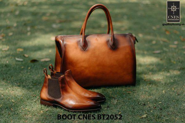 Giày da nam Chelsea Boot CNES BT2052 003