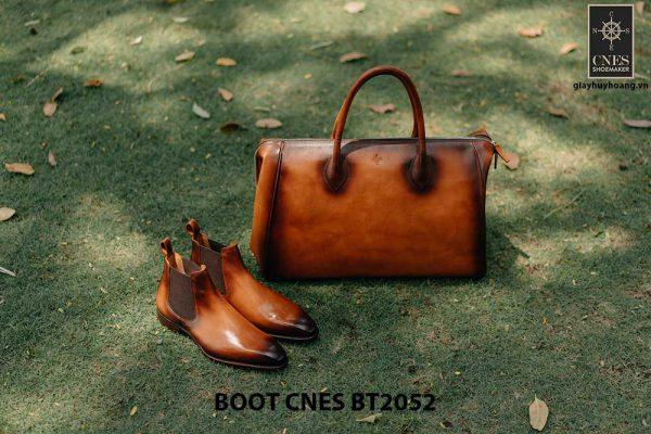 Giày da nam Chelsea Boot CNES BT2052 002
