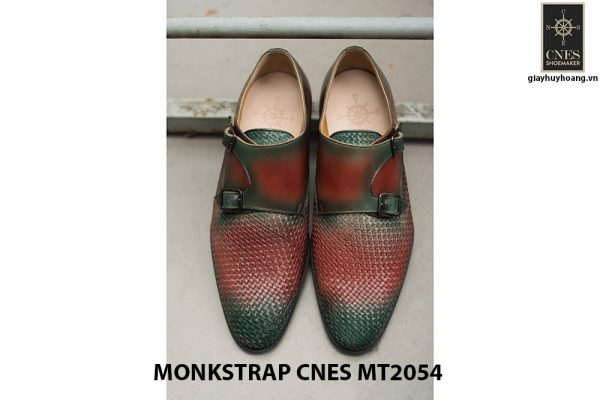 Giày tây nam hai khóa Monkstrap CNES MT2054 001