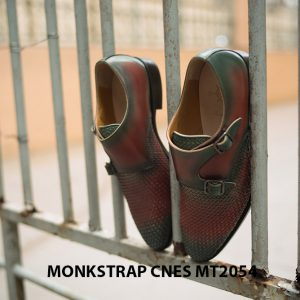 Giày tây nam hai khóa Monkstrap CNES MT2054 003