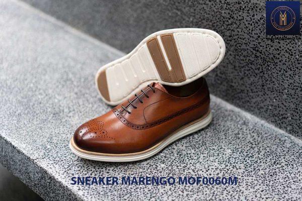 [Outlet Size 41] Giày da nam thể thao Sneaker Marengo MOF0060 004