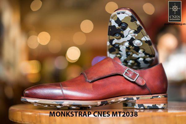 Giày da nam thời trang Monkstrap CNES MT2038 005