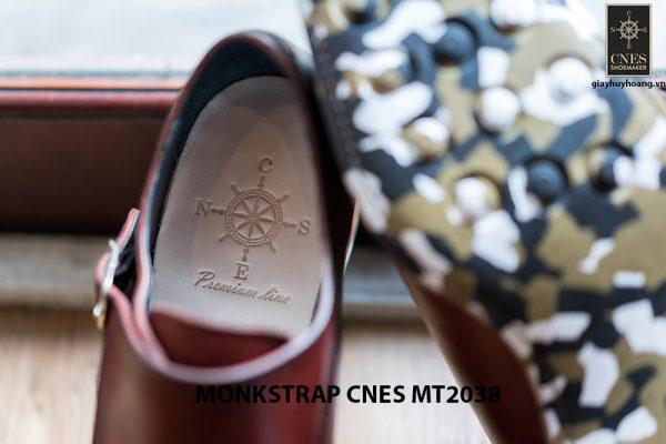 Giày da nam thời trang Monkstrap CNES MT2038 004