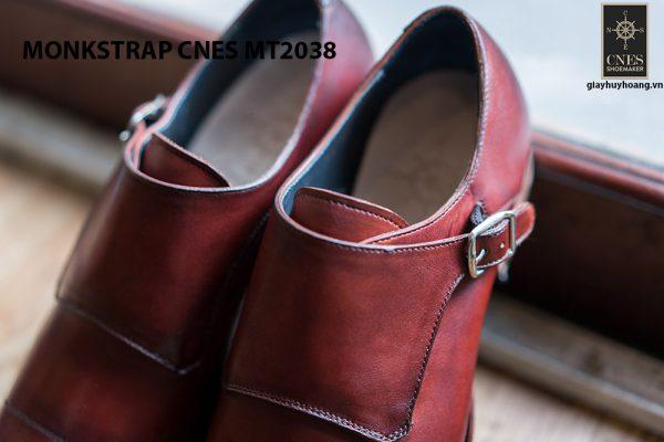 Giày da nam thời trang Monkstrap CNES MT2038 003