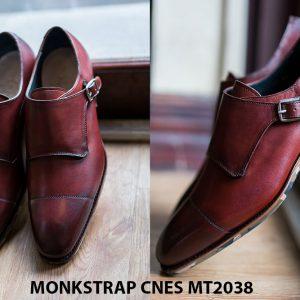 Giày da nam thời trang Monkstrap CNES MT2038 002