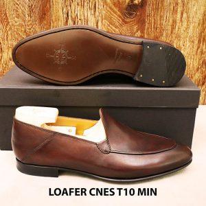Giày lười nam đơn giản Loafer CNES T10 MIN 005