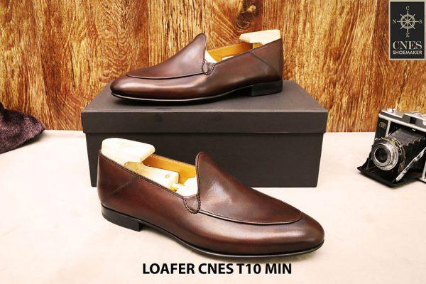 Giày lười nam đơn giản Loafer CNES T10 MIN 004