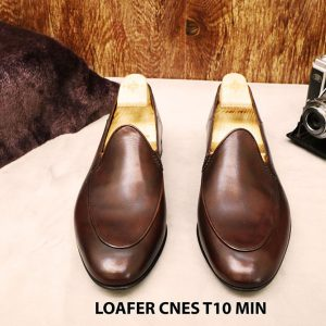 Giày lười nam đơn giản Loafer CNES T10 MIN 003
