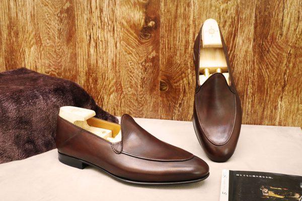 Giày lười nam đơn giản Loafer CNES T10 MIN 002