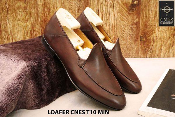 Giày lười nam đơn giản Loafer CNES T10 MIN 001