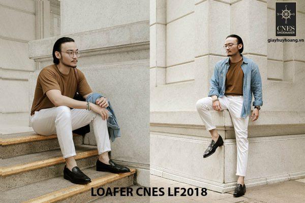Giày lười nam đẹp Loafer CNES LF2018 003