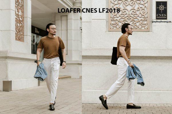 Giày lười nam đẹp Loafer CNES LF2018 002