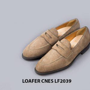 Giày da nam công sở Loafer CNES LF2039 001