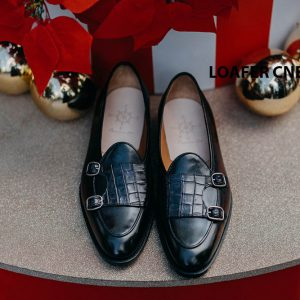 Giày không dây nam Loafer CNES LF2024 001