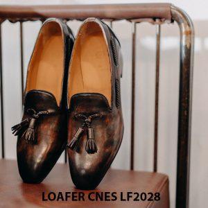 Giày lười nam da bò Loafer CNES LF2028 002