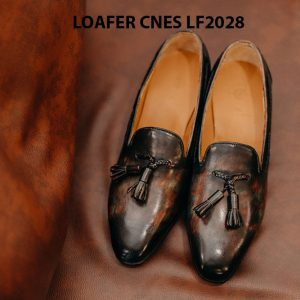 Giày lười nam da bò Loafer CNES LF2028 001