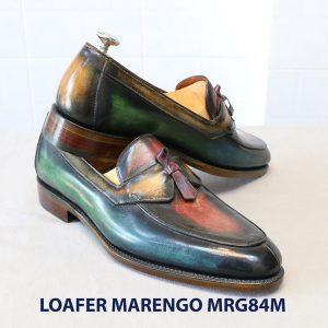 [Outlet Size 41] Giày lười đa sắc Loafer Marengo MGR84M 004