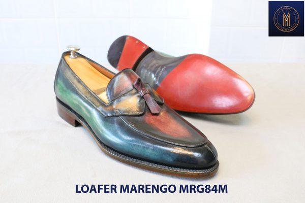 [Outlet Size 41] Giày lười đa sắc Loafer Marengo MGR84M 003