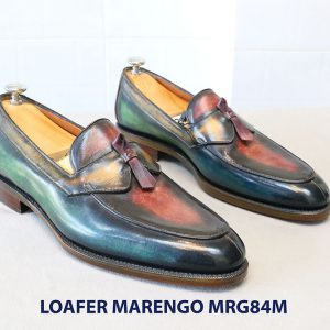 [Outlet Size 41] Giày lười đa sắc Loafer Marengo MGR84M 001