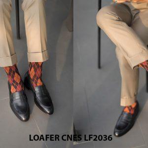Giày lười nam cao cấp Loafer CNES LF2036 002