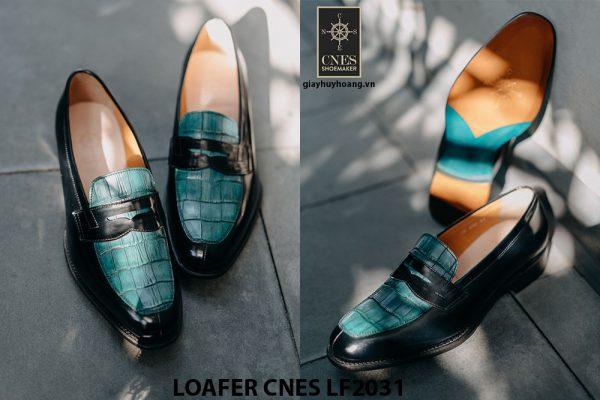 Giày lười nam chính hãng Loafer CNES LF2031 002