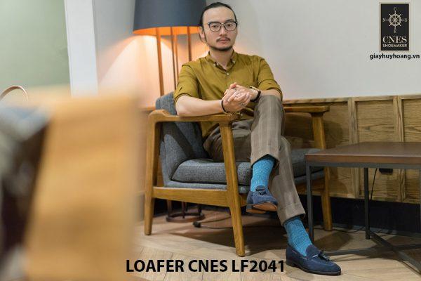 Giày lười nam đẹp Loafer CNES LF2041 003