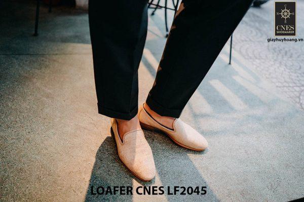 Giày lười nam chính hãng Loafer CNES LF2045 001