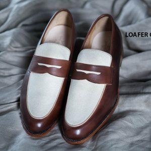 Giày không dây nam Loafer CNES LF2047 001