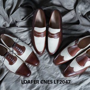 Giày không dây nam Loafer CNES LF2047 002