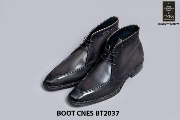 Giày da nam Boot CNES BT2037 001