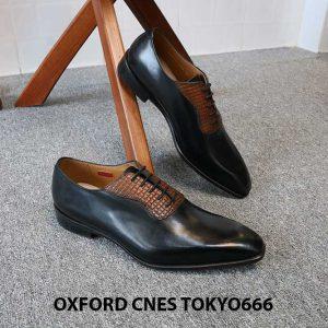 Giày da nam chính hãng Oxford CNES Tokyo666 005