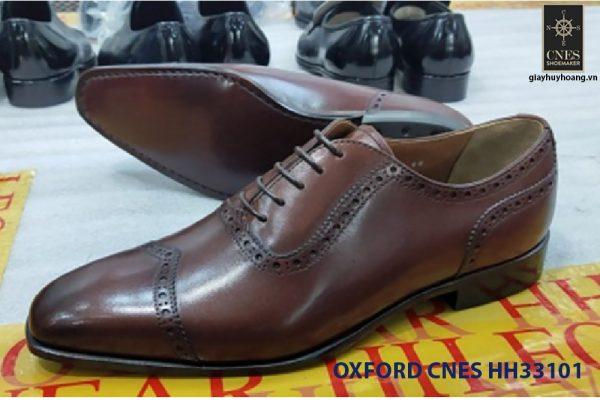 Giày tây nam giá rẻ Oxford CNES HH33101 002